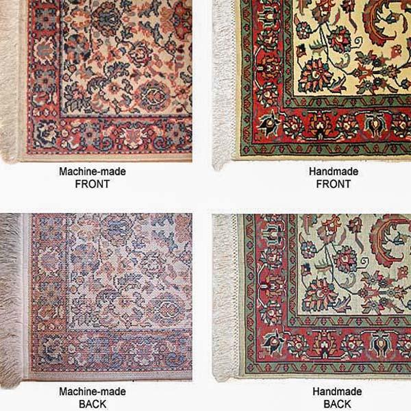 مقایسه فرش ماشینی و دستباف